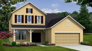 Newbury II model at Tapestry in Kissimmee by Beazer