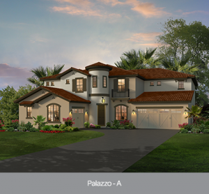 Palazzo at Edgewater at Bellalago new construction homes Orlando