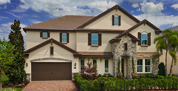 Parkside Dr Phillips.New luxury homes near Disney by Meritage Homes