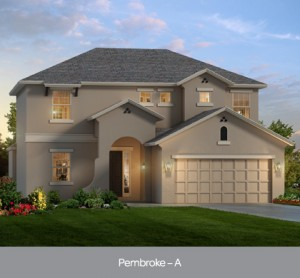 Pembroke  model at Summerbrooke in Mount Dora