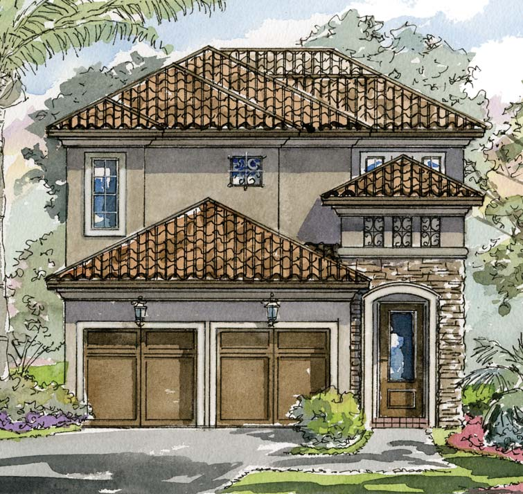 New Construction Luxury Homes: Villas Of Ravello Florida. New Construction Luxury Homes