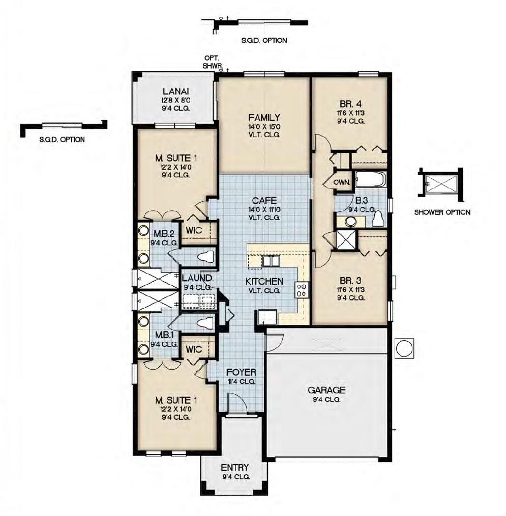Sequoia Floorplan Bellavida Resort Kissimmee New Build Homesnew Build Homes