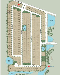 Sereno Community in Davenport Sitemap