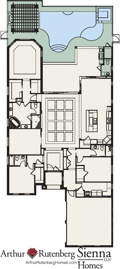 Sienna Floor Plan At Ravello Estates