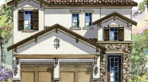 Villas of Ravello – Sillano model by Arthur Rutenberg