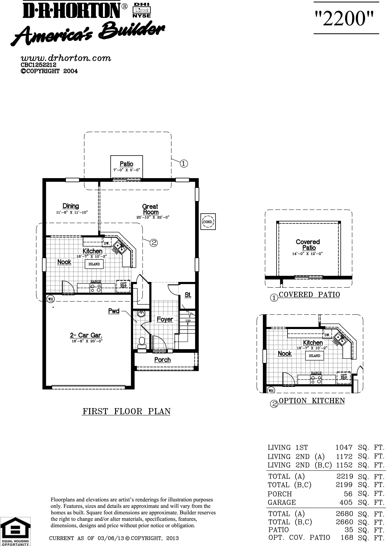 Dr Horton Floor Plans Florida Dr Horton Azalea Floor Plan