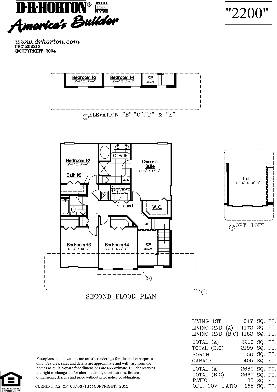 Dr Horton Azalea Floor Plan Sereno Community Davenport By Dr Hortonnew Build Homes