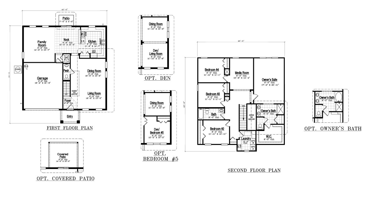 Sereno davenport summit model by dr horton new build for Dr horton home share floor plans