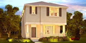 Tennyson model at Windermere Trails Orlando by Meritage Homes