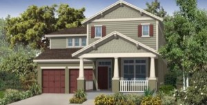 Thoreau model at Windermere Trails Orlando by Meritage Homes