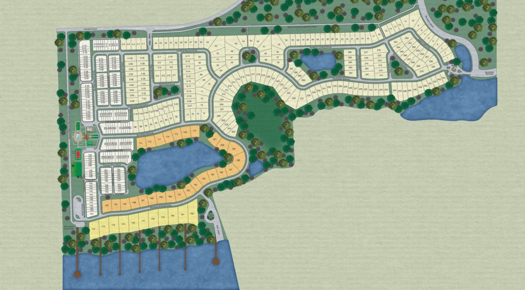 Waters Edge at Lake Nona Site plan