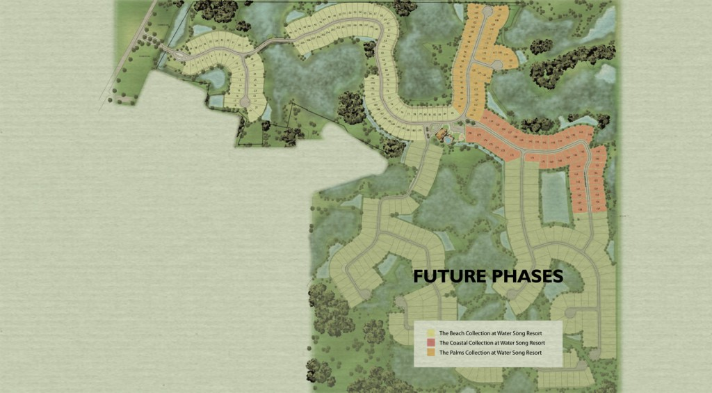 Watersong Resort Site Plan