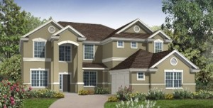 Wallace model at Windermere Trails Orlando by Meritage Homes