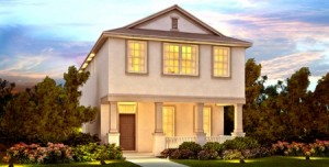 Whitman model at Windermere Trails Orlando by Meritage Homes
