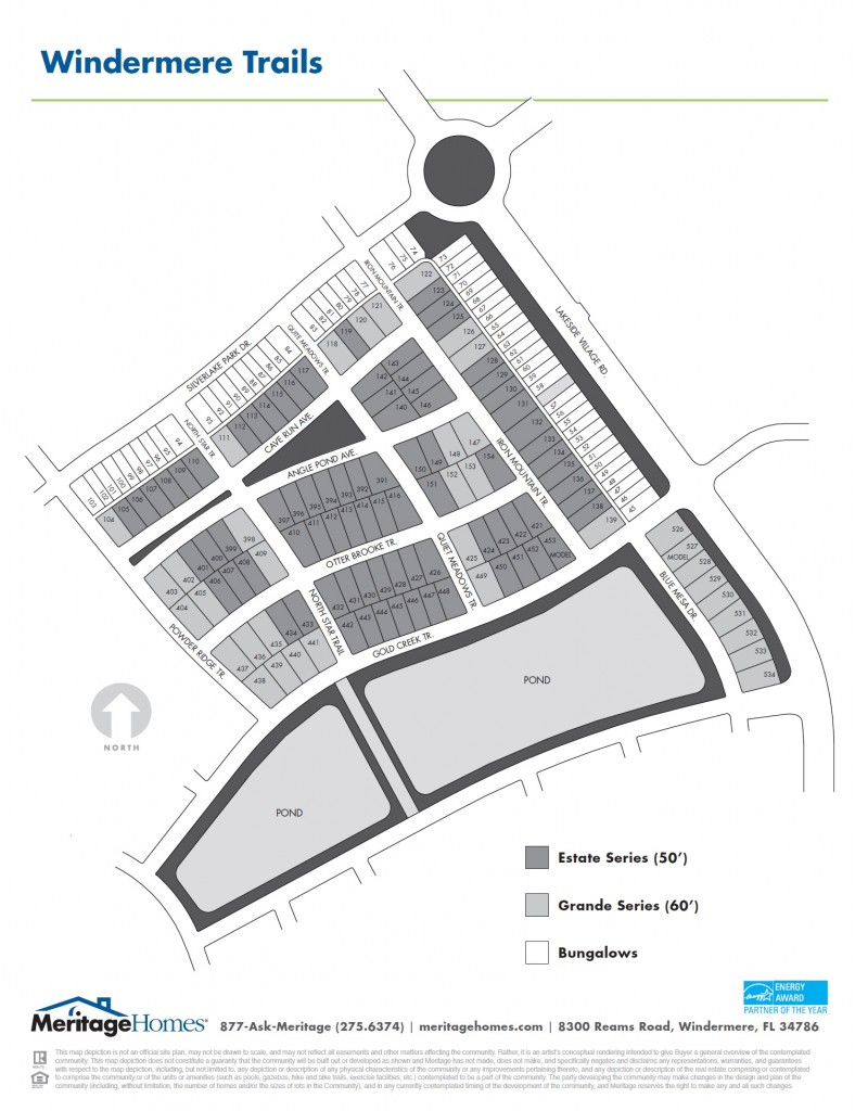 Windermere Trails Site Plan