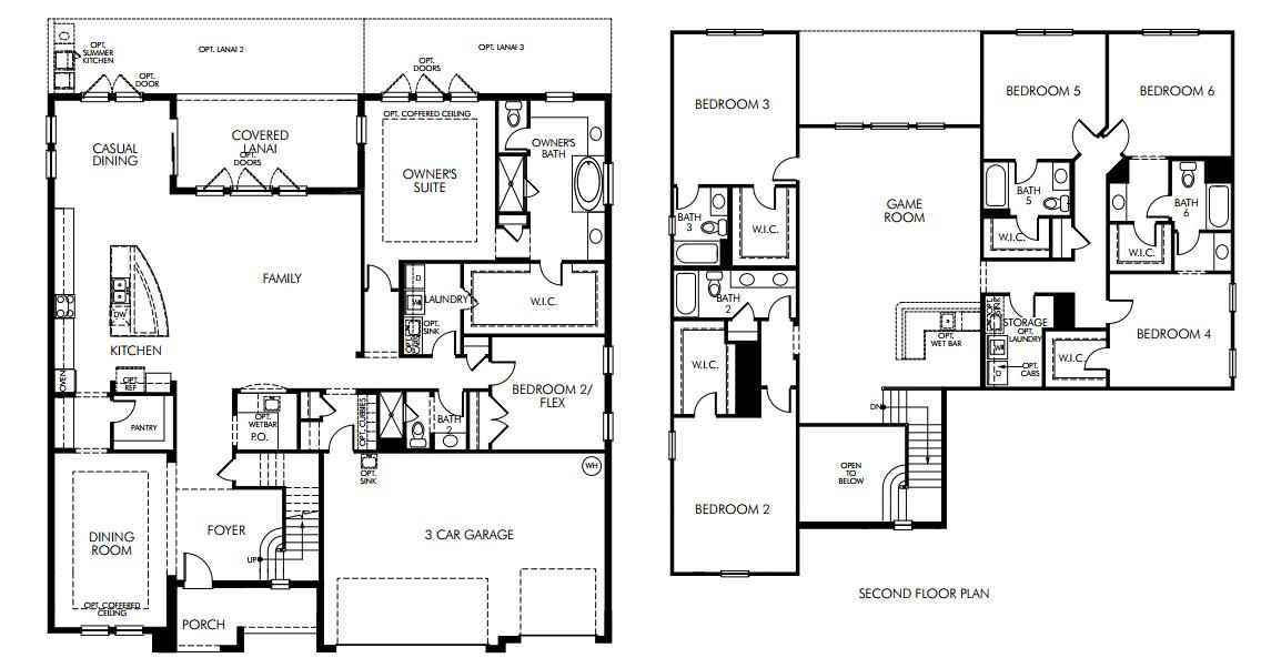 Parkside dr phillips luxury homes orlando Michigan home builders floor plans