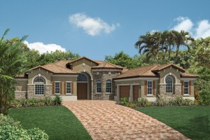 Adair model - Casabella at WIndermere luxury houses for sale