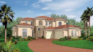 Casa Allegre model - Casabella at WIndermere luxury houses for sale