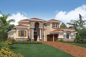 Dalenna model - Casabella at WIndermere luxury houses for sale