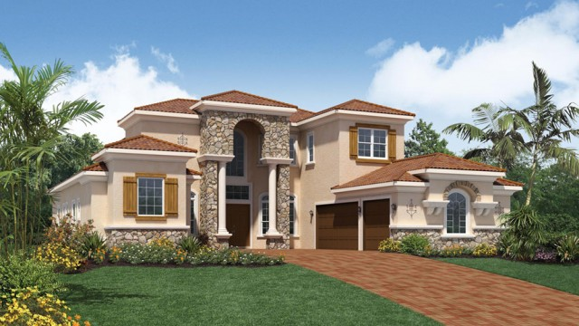 Dalenna model floorplan in casabella at windermerenew for Casa bella homes