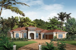 Malaga model - Casabella at WIndermere luxury houses for sale