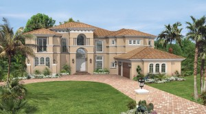 Villa Lago model - Casabella at WIndermere luxury houses for sale