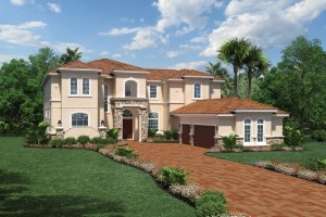 Villa Milano model - Casabella at WIndermere luxury houses for sale