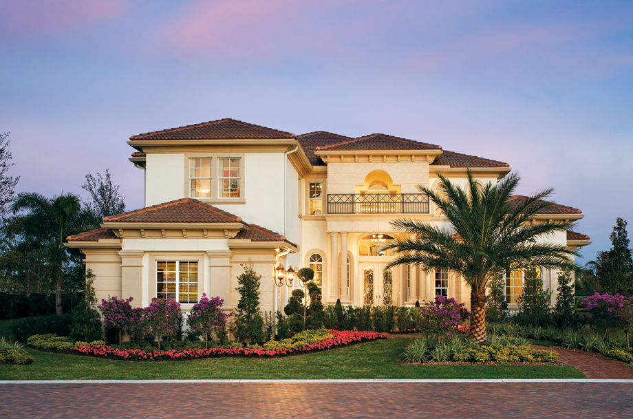Casabella at windermere by toll brothers for Large luxury homes