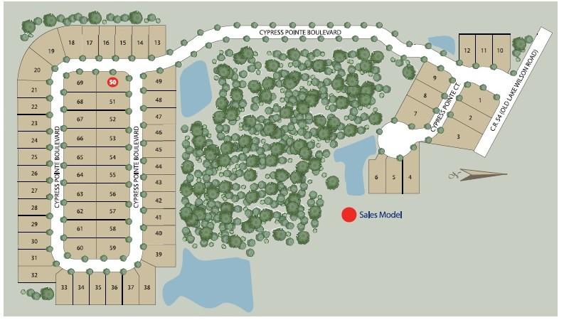 Cypress Pointe Site Plan