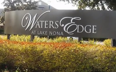 Waters Edge at Lake Nona by Park Square HomesNew Build Homes