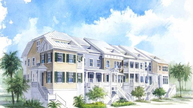Waterside at Indian Shores. 54 luxury townhomes on the intracoastal waterway of Tampa Bay