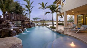 The Bridges Boca Raton model private pool