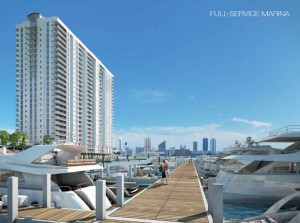 Marina Palms Yacht Club Miami luxury waterfront condos