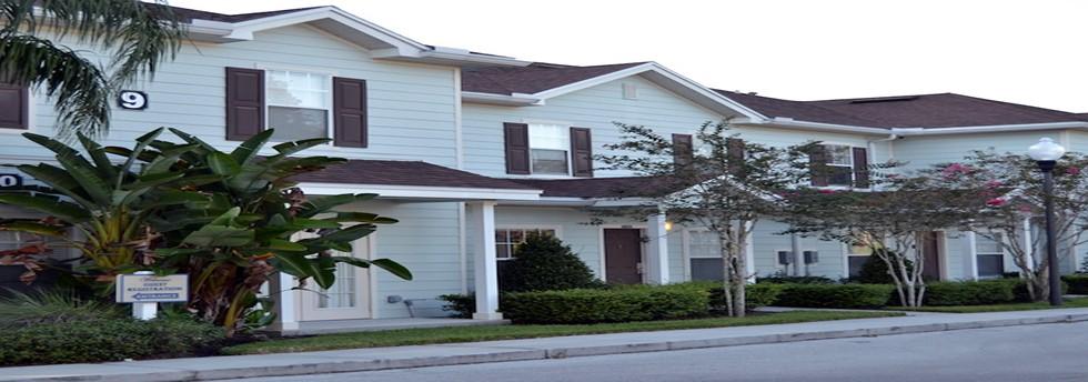 Vacation townhomes at Lucaya Village Orlando