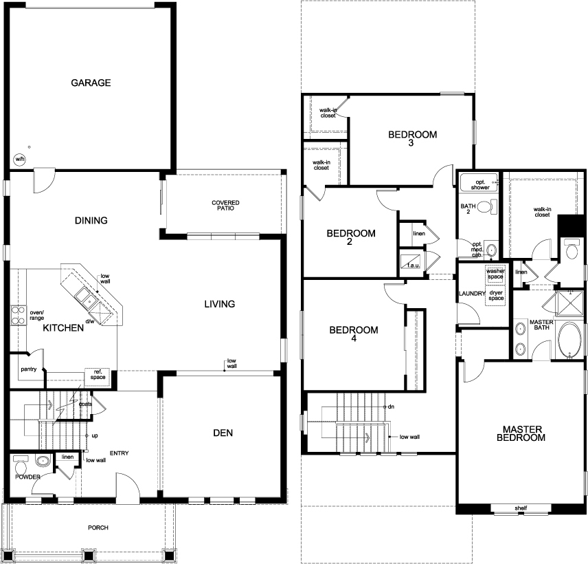 Kb homes florida floor plans house design plans for Summerlake house plan