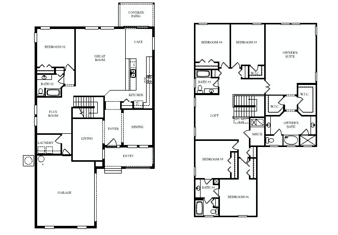 Summerlake in winter garden by dr horton for Continental homes floor plans