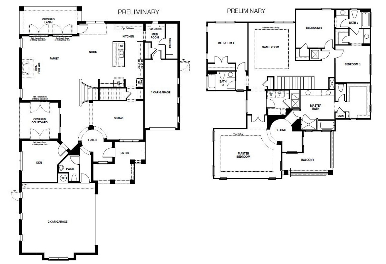 Coventry at heathrow by taylor morrison for Coventry homes floor plans