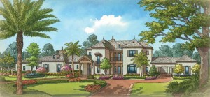 Chateau Bellevue model at Golden Oak