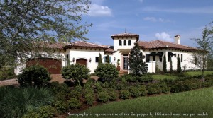 Culpepper model at Lake Nona Golf and Country Club