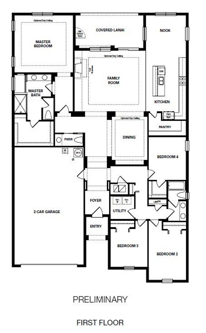 Coventry at heathrow by taylor morrison for Morrison homes floor plans