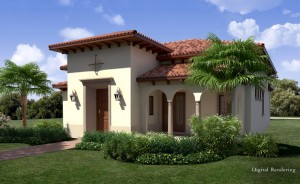 Manning floor plan at Lake Nona Golf and Country Club