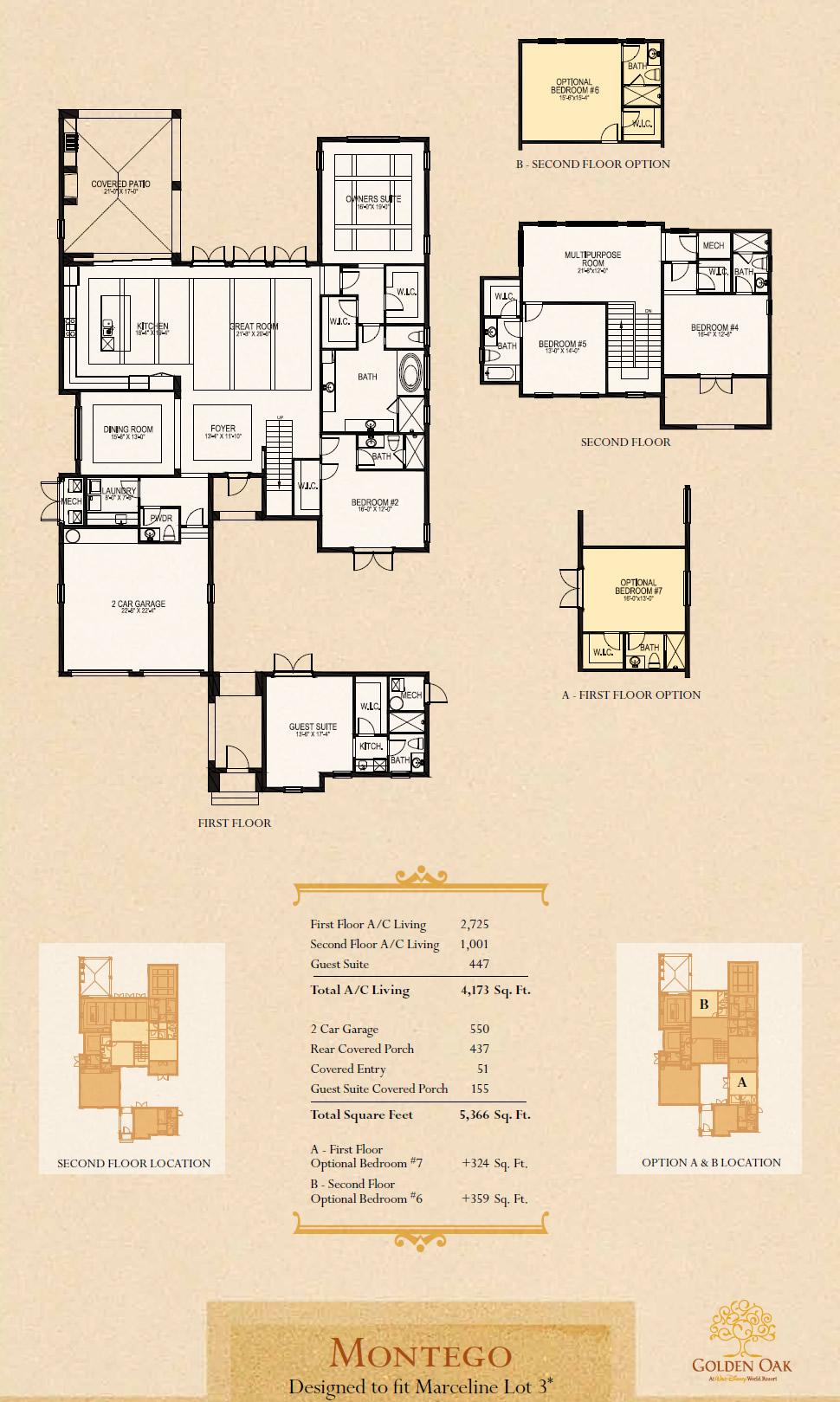 Disney golden oak luxury new homes in lake buena vistanew for Gt issa floor plans