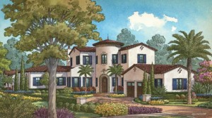 Ponte Vedra model at Golden Oak