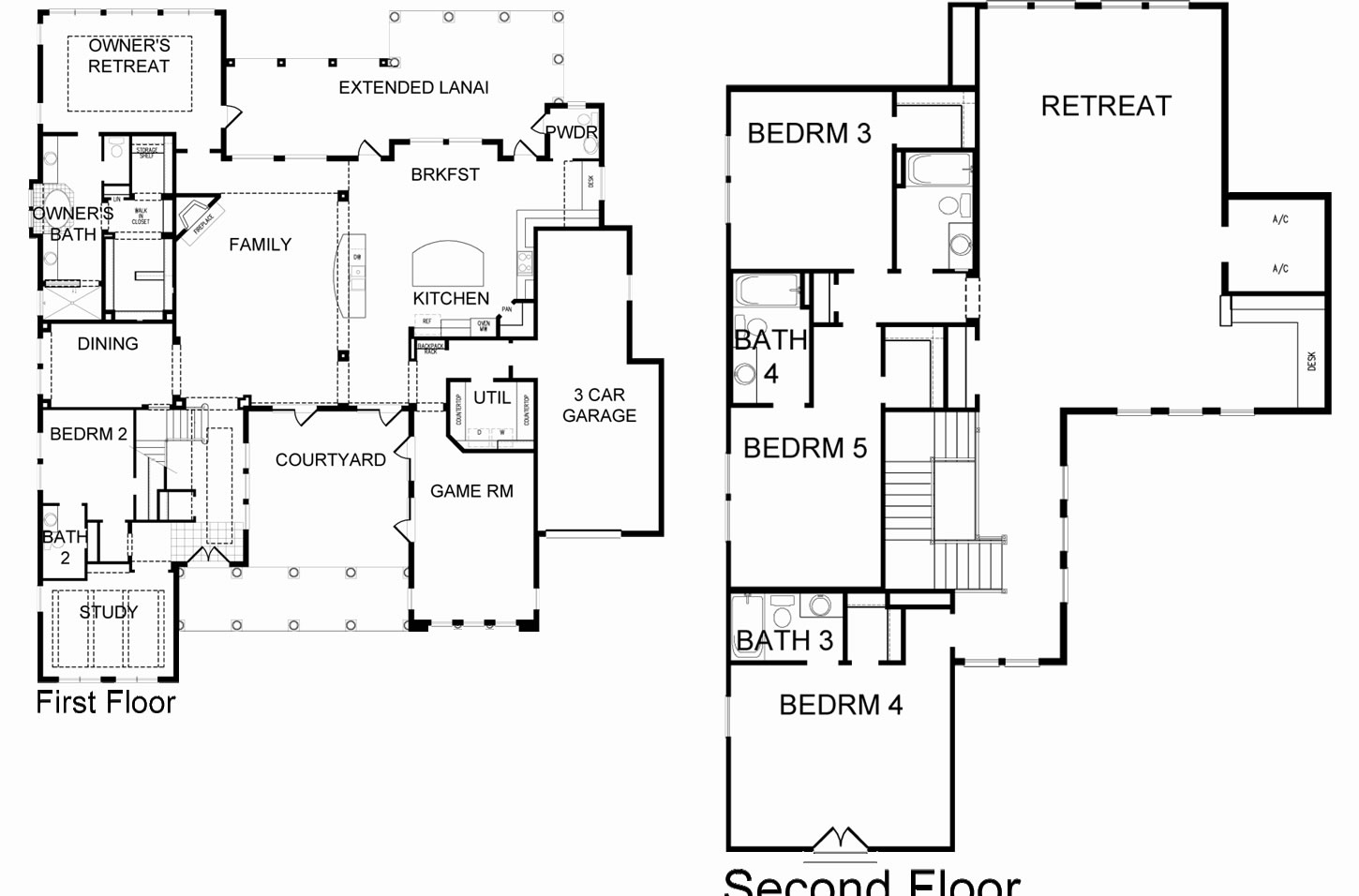 New homes at baldwin park is jus 2miles from downtown orlando Customizable floor plans
