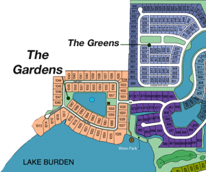 The Gardens at Keene's Pointe site plan