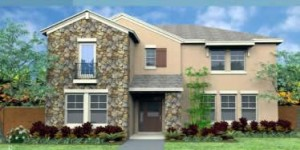 The Edison model. New construction vacation homes in Kissimmee, Orlando at Trafalgar Village Resort