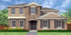 Hilton model. New construction vacation homes in Kissimmee, Orlando at Trafalgar Village Resort