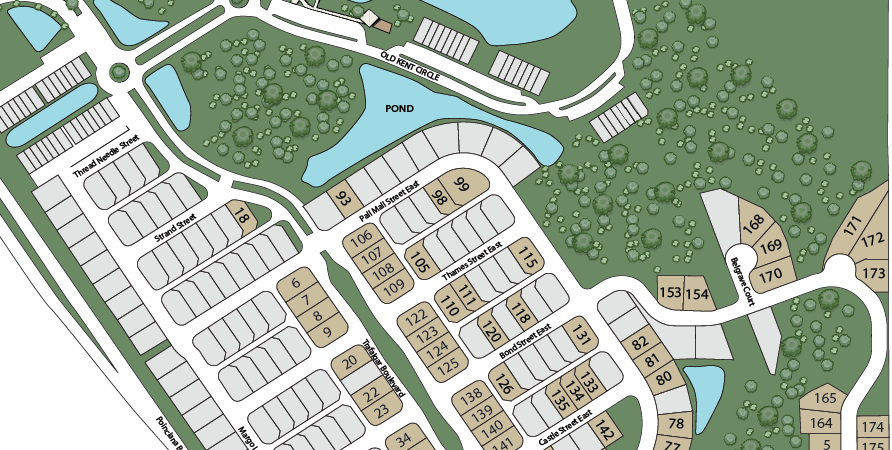 Trafalgar Village Site Plan
