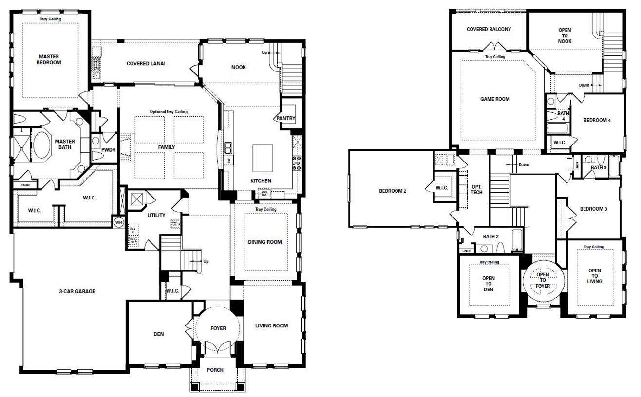 braemar in gotha new luxury homes view floor plan