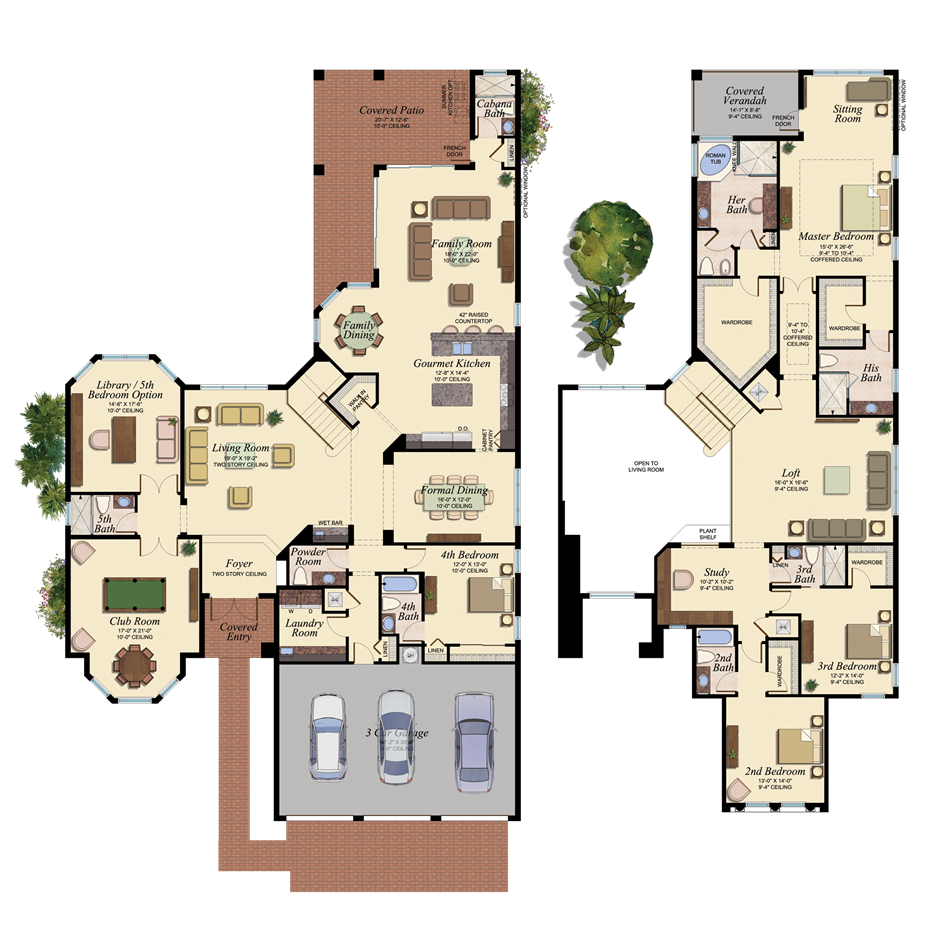 Gl homes floor plans florida for Florida home builders floor plans
